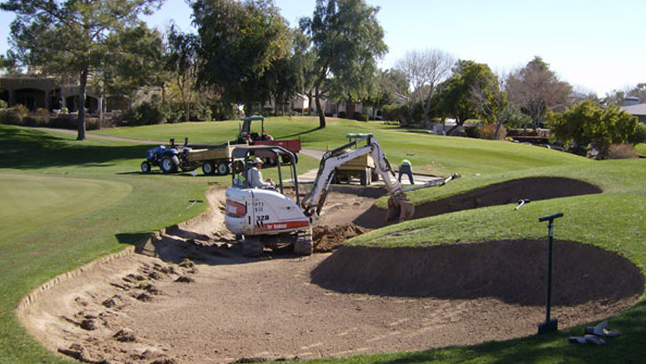 Golf Course Bunker Renovation